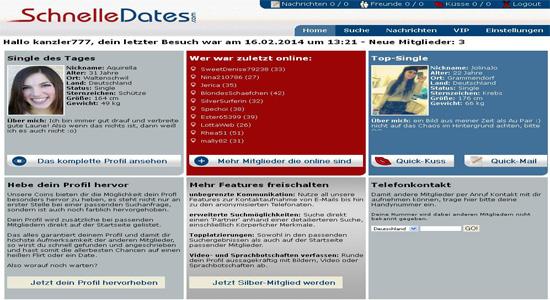 Profil Schnelle Dates