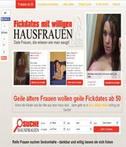 Hausfrauen Sexkontakte